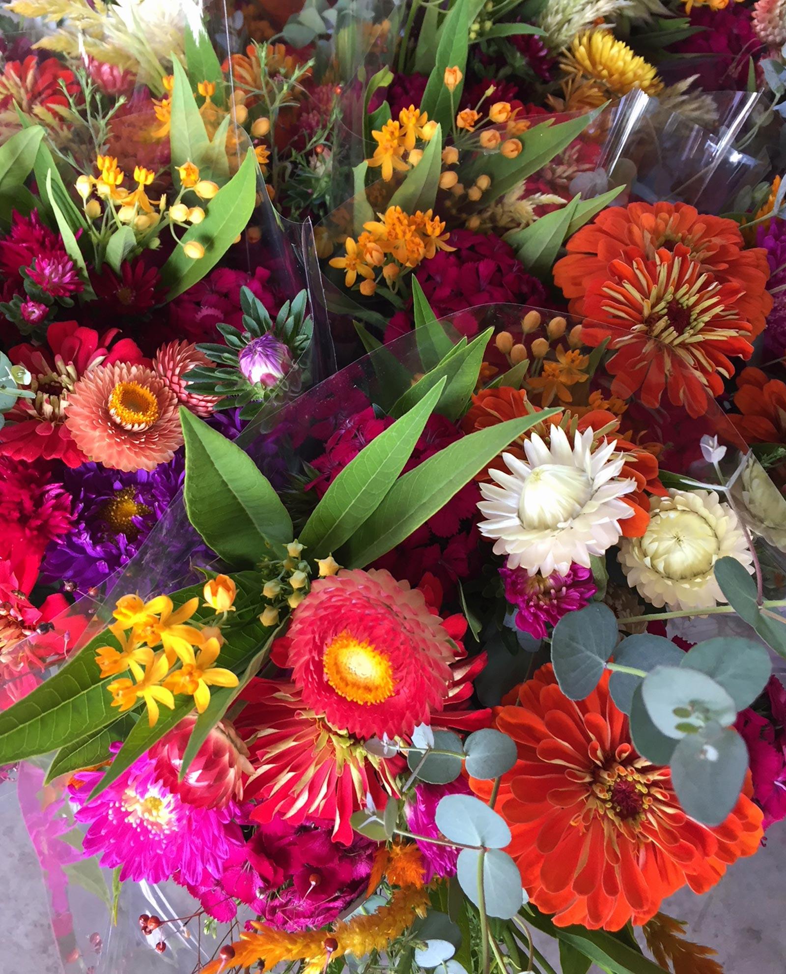 Flower Share Membership - Unity Farm, seasonal flowers and organic greens
